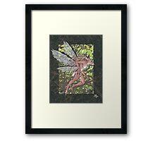Deer Fae Framed Print