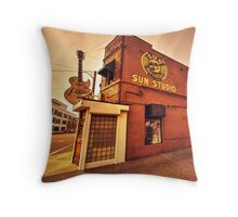 Sun Studios Memphis  Throw Pillow