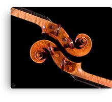 Interlocking Scrolls Canvas Print