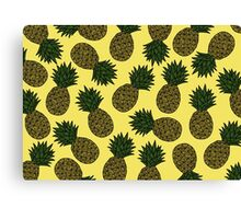 PINEAPPLE - YELLOW Canvas Print