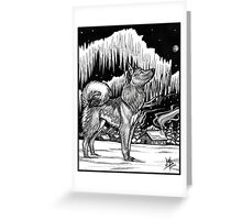 Northern Light - 2002 Greeting Card