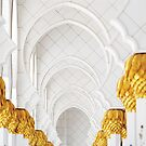 Sheik Zayed Mosque Archways by Mary Grekos