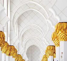 Sheik Zayed Mosque Archways by Mary Grekos