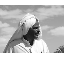 BEDOUIN FACE  Photographic Print