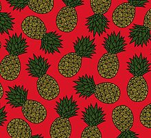PINEAPPLE - RED by tosojourn