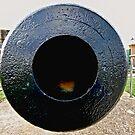 Down the barrel of a Great Big Gun by bazcelt