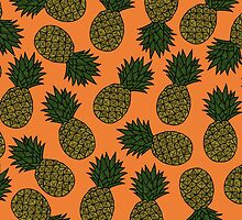PINEAPPLE - ORANGE by tosojourn