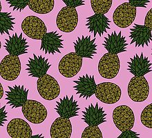 PINEAPPLE - PINK by tosojourn