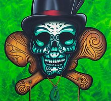 Chief Moko by skullbrain