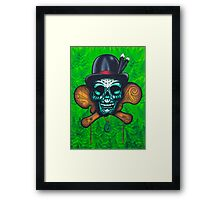 Chief Moko Framed Print