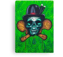 Chief Moko Canvas Print
