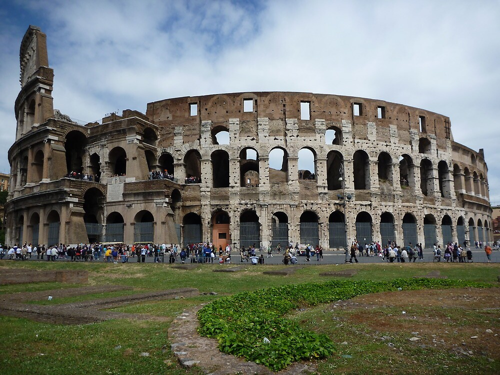 Colosseum  by obbyjake