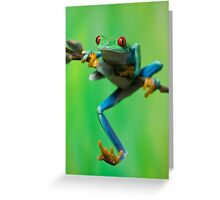 Caught climbing Greeting Card