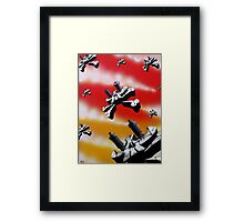 On the look out for Peace Framed Print