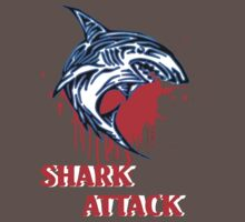 sharks t-shirt by ralphyboy