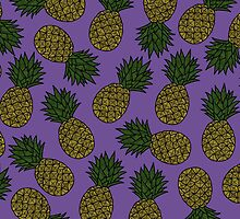 PINEAPPLE - PURPLE by tosojourn