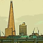 Southbank skyline by Tim Constable by Tim Constable