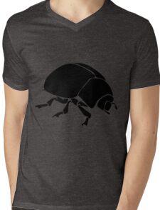 Black bug Mens V-Neck T-Shirt