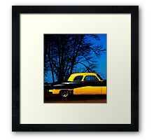 Bumble Blue Framed Print