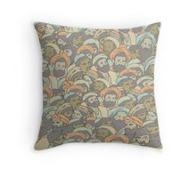 Arabic design.  Throw Pillow