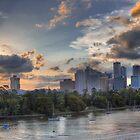 Lower Brisbane by Lawrie McConnell