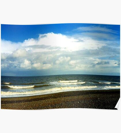 Cley Beach Poster