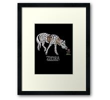 Realistic Zecora Framed Print