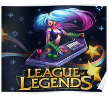 LEAGUE OF LEGENDS SONA Poster