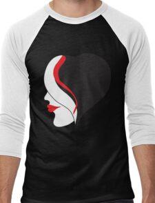 Black Hurt Men's Baseball ¾ T-Shirt