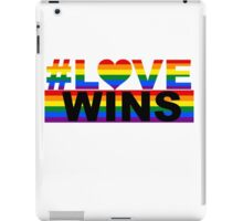 #LOVE WINS iPad Case/Skin