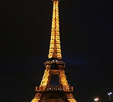 Paris' Night Light by Jessica Kruer