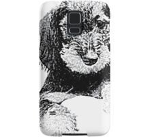 Wire-haired dachshund Samsung Galaxy Case/Skin