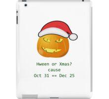 Hween Xmas iPad Case/Skin