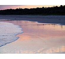 gerroa shoreline Photographic Print