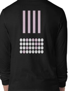 Circles And Lines Long Sleeve T-Shirt