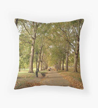 Autumn St. James' Park London Throw Pillow