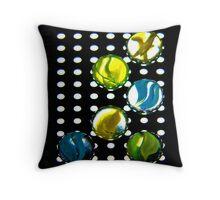 Spot Light On Marbles Throw Pillow