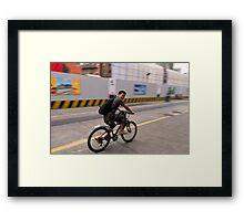 Shanghai Speed - Shanghai, China Framed Print