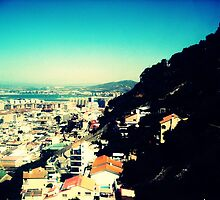 View from a tram - Gibraltar by michaelajf