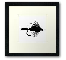 The Perfect Black Fly  -  Art Framed Print