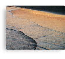 dusk's reflection Canvas Print