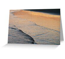 dusk's reflection Greeting Card