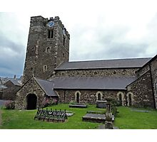 St Mary's Church, Conwy Photographic Print
