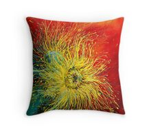 Bursting Buds Throw Pillow