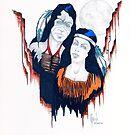 Native American Couple by James Peele
