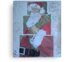 S'nta Claus - Original pastel on paper SOLD Canvas Print