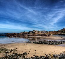 Across the bay to Fort Corblets by NeilAlderney