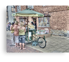 Ice-cream Cart~ Canvas Print