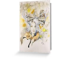 Fauna Greeting Card