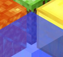 Minecraft Block Microsoft Logo Sticker